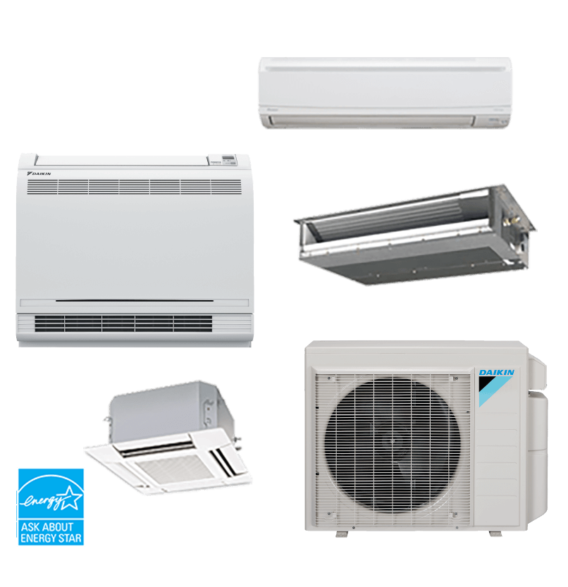 Ductless Heating And Air Residential Hvac Daikin Comfort